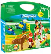 PLAYMOBIL Country 5893 - Valisette cavaliers et poneys pas cher