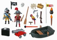 PLAYMOBIL Pirates 5894 Valisette pirate et soldat