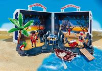 PLAYMOBIL Pirates 5947 Coffre transportable île au trésor de pirate
