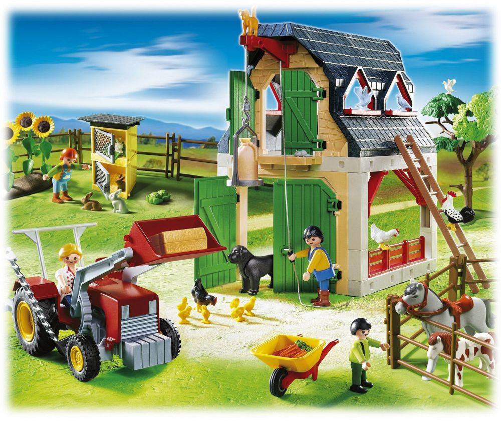 playmobil country 5961 pas cher ferme et accessoires. Black Bedroom Furniture Sets. Home Design Ideas