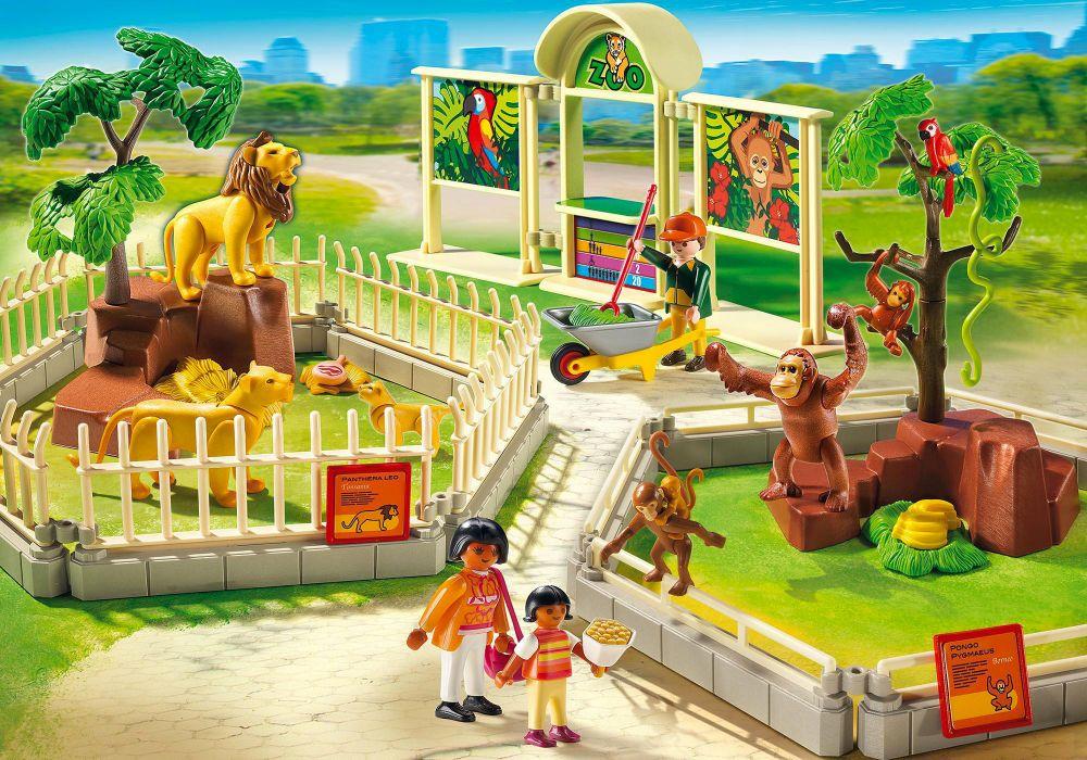 playmobil city life 5969 pas cher le grand zoo. Black Bedroom Furniture Sets. Home Design Ideas