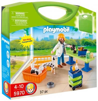 PLAYMOBIL City Life 5970 Valisette vétérinaire
