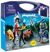 PLAYMOBIL Knights 5972 - Valisette chevaliers pas cher