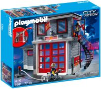 PLAYMOBIL City Action 5981 Station de Pompiers