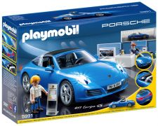 PLAYMOBIL Sports & Action 5991 Porsche 911 Targa 4S
