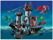 PLAYMOBIL Knights 5996 Forteresse du Dragon Rouge