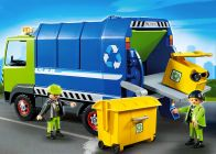 PLAYMOBIL City Action 6110 Camion de recyclage ordures