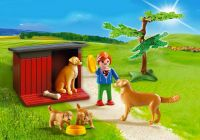 PLAYMOBIL Country 6134 Enfant avec famille de golden retrievers