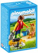 PLAYMOBIL Country 6139 - Soigneur avec chats pas cher