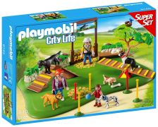 PLAYMOBIL City Life 6145 SuperSet Centre de dressage pour chiens