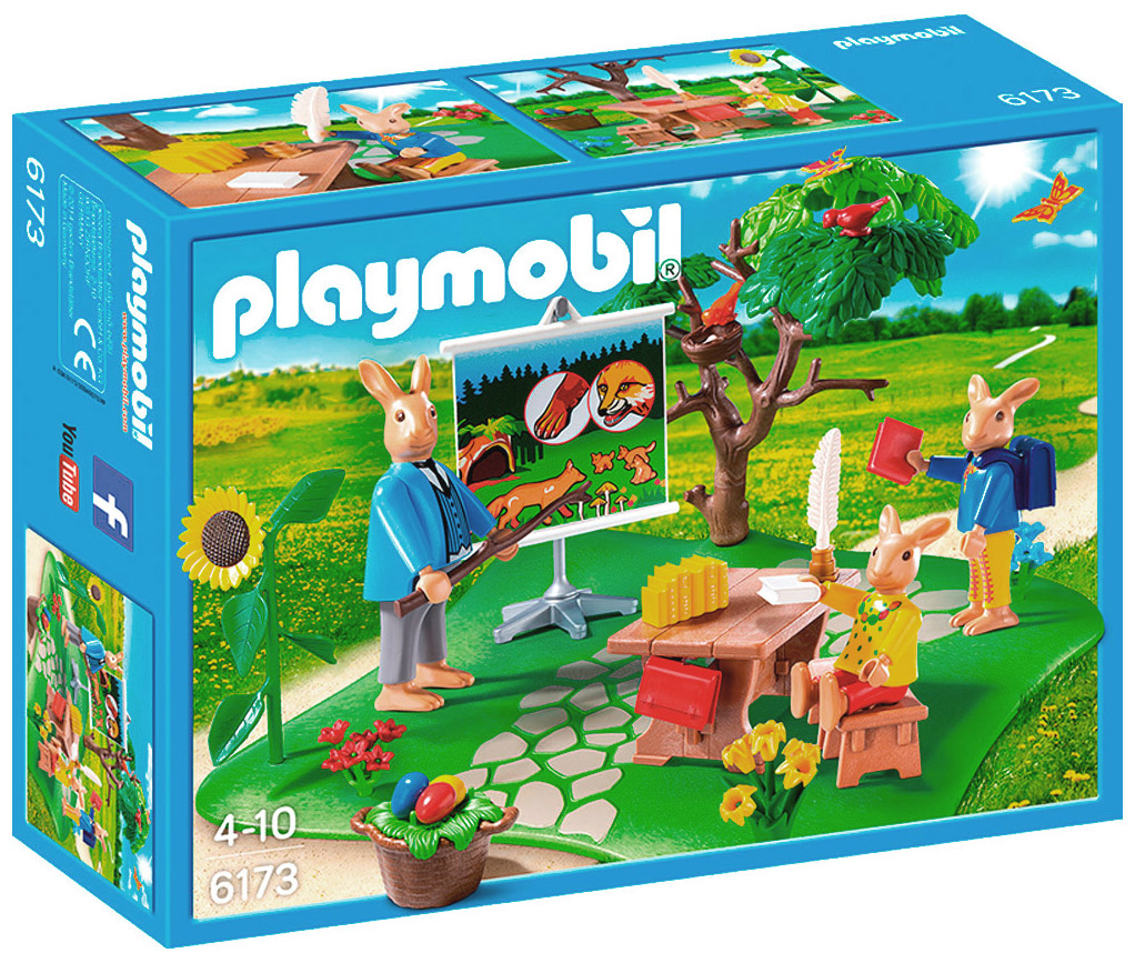Playmobil oeufs de p ques 6173 pas cher ecole des lapins - Oeuf de paques pas cher ...