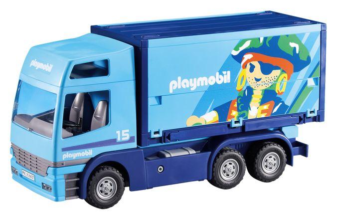 Playmobil city action 6437 pas cher camion pour marchandises - Playmobil camion ...