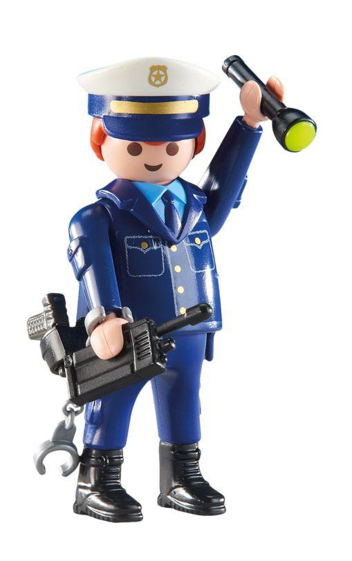 Playmobil city action 6502 pas cher chef des policiers - Playmobile policier ...