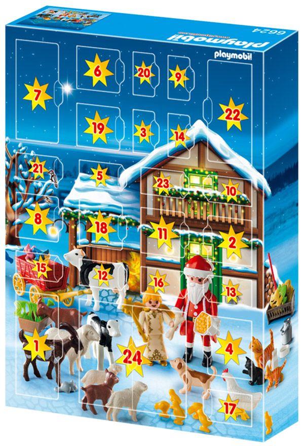 Calendrier De L Avent Playmobil Pas Cher.De Christmas Calendrier Noel 6624 Pas L Avent Pere Cher