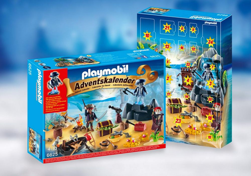 playmobil christmas 6625 pas cher calendrier de l 39 avent ile des pirates. Black Bedroom Furniture Sets. Home Design Ideas