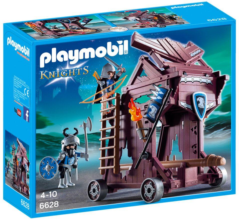 playmobil knights 6628 tour dattaque des chevaliers du faucon - Playmobile Chevalier