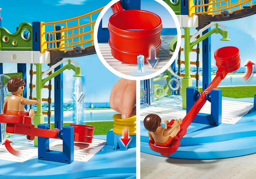 playmobil summer fun 6670 pas cher aire de jeux aquatique. Black Bedroom Furniture Sets. Home Design Ideas