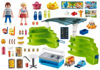 PLAYMOBIL Summer Fun 6672 Espace boutique et fast-food
