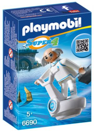 PLAYMOBIL Super 4 6690 Docteur X