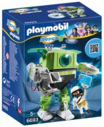 PLAYMOBIL Super 4 6693 - Robot Cleano pas cher