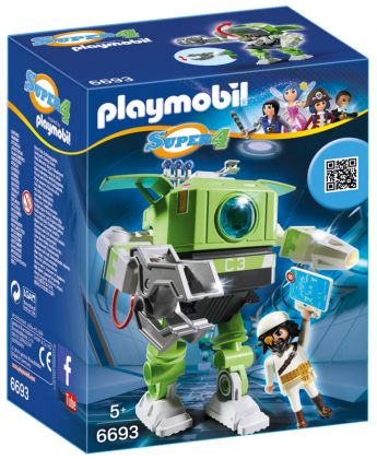 PLAYMOBIL Super 4 6693 Robot Cleano