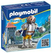 PLAYMOBIL Super 4 6698 - Sire Ulf le garde royal pas cher