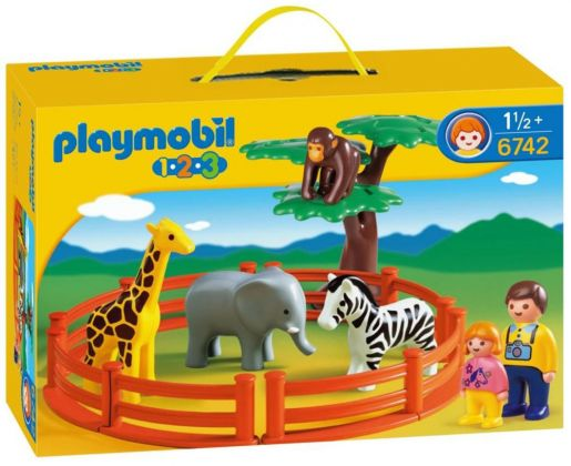 PLAYMOBIL 123 6742 Le zoo
