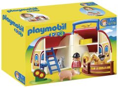 PLAYMOBIL 123 6778 Ferme transportable