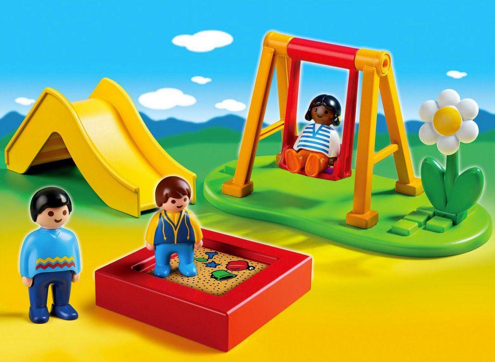 playmobil 123 6785 pas cher enfants et parc de jeux. Black Bedroom Furniture Sets. Home Design Ideas