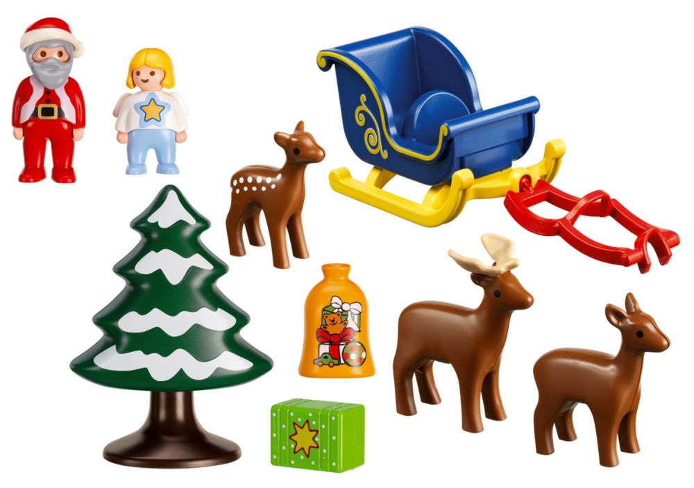 playmobil 123 christmas christmas decore. Black Bedroom Furniture Sets. Home Design Ideas