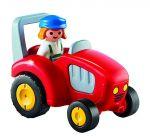 PLAYMOBIL 123 6794 Agricultrice avec tracteur