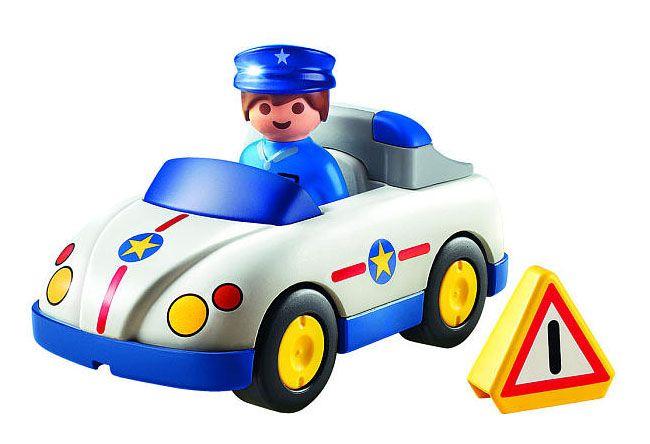playmobil 123 6797 policier et voiture - Policier Playmobil