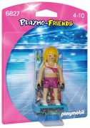 PLAYMOBIL Playmo-Friends 6827 - Coach de fitness pas cher