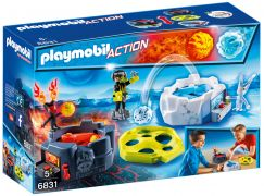 PLAYMOBIL Sports & Action 6831 Zone de combat avec robots