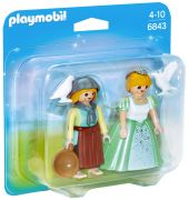 PLAYMOBIL Princess 6843 Princesse et servante