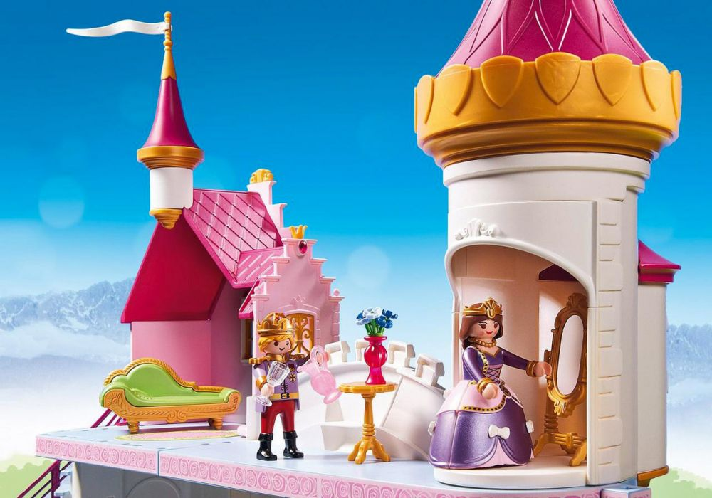 PLAYMOBIL Princess 6849 pas cher - Manoir royal