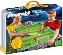 PLAYMOBIL Sports & Action 6857 Terrain de football transportable