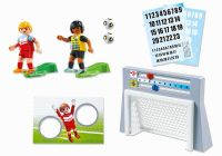 PLAYMOBIL Sports & Action 6858 Cage de tir au but avec footballeurs