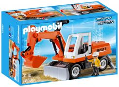 PLAYMOBIL City Action 6860 Tractopelle avec godet