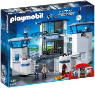PLAYMOBIL City Action 6872 Commissariat de police avec prison