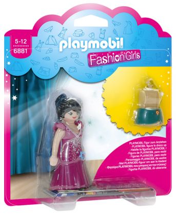 PLAYMOBIL Dollhouse 6881 Fashion Girl - Tenue de gala