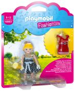 PLAYMOBIL Dollhouse 6883 Fashion Girl - Tenue rétro