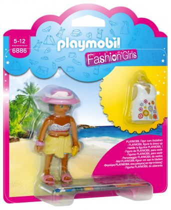 PLAYMOBIL Dollhouse 6886 Fashion Girl - Tenue de plage