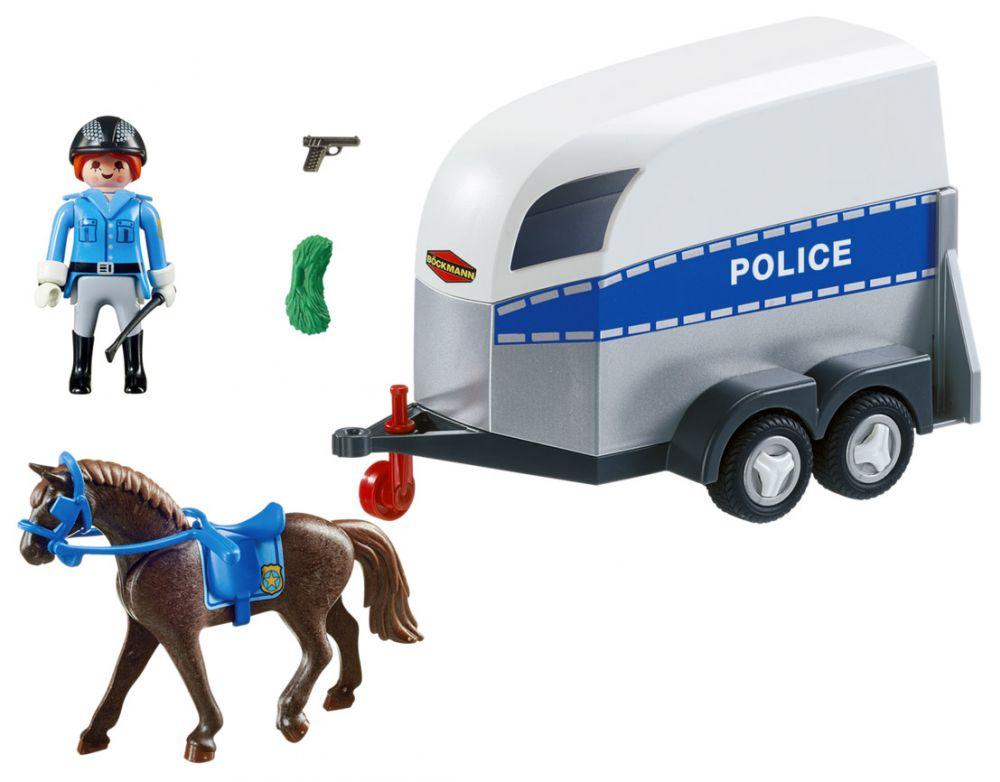 playmobil city action 6922 pas cher polici re avec. Black Bedroom Furniture Sets. Home Design Ideas