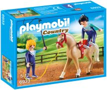 PLAYMOBIL Country 6933 - Voltigeuses et cheval pas cher
