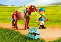 PLAYMOBIL Country 6971 Poney à décorer Papillon