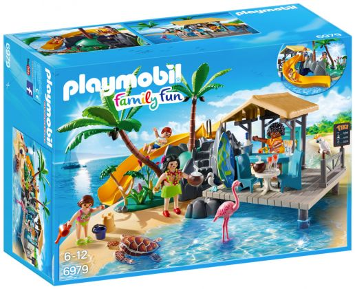 PLAYMOBIL Family Fun 6979 Ile avec vacanciers