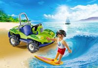 PLAYMOBIL Family Fun 6982 Surfer et buggy