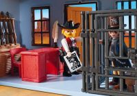 PLAYMOBIL Western 70012 Coffret de Far-West transportable
