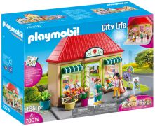 PLAYMOBIL City Life 70016 Magasin de fleurs